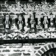 Ферапонтов монастырь. Собор Рождества Богородицы. Фрагмент фасада. 1490