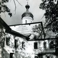 Ферапонтов монастырь. Собор Рождества Богородицы. Вид с юго-западной стороны. 1490