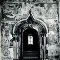 Ферапонтов монастырь. Собор Рождества Богородицы. 1490. Стенная роспись притвора