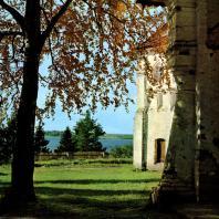 Ферапонтов монастырь. Угловая часть здания келий