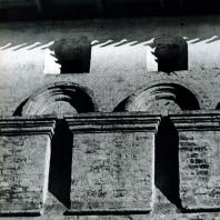 Звенигород. Саввино-Сторожевский монастырь. Фрагмент оборонительной стены. XVI-XVII вв