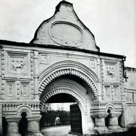 Переславль-Залесский. Горицкий монастырь. Святые ворота. XVII в.