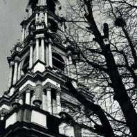 Загорск. Троице-Сергиева лавра. Колокольня. Фрагмент. 1741-1770
