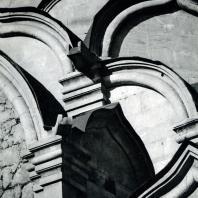 Москва. Спасо-Андроников монастырь. Спасский собор. Кокошники. 1410-1427