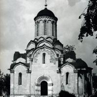 Москва. Спасо-Андроников монастырь. Спасский собор. 1410-1427