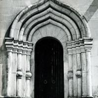 Москва. Спасо-Андроников монастырь. Портал Спасского собора. 1410-1427