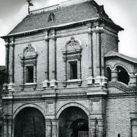 Москва. Крутицкий теремок. Задний фасад. Фрагмент. 1694