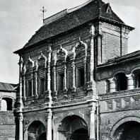 Москва. Крутицкий теремок. Главный фасад. 1694