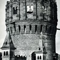 Москва. Ново-Девичий монастырь. Напрудная башня. Фрагмент