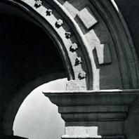Коломенское. Арка Передних ворот. Фрагмент. 1671-1672