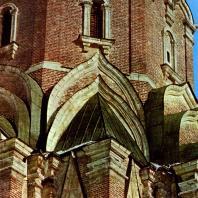 Коломенское. Церковь Вознесения. Кокошники. Фрагмент. 1532