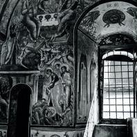 Ростов Великий. Церковь Воскресения. 1670. Роспись стены