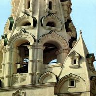 Ярославль. Надвратная церковь - колокольня Рождества Христова. Фрагмент
