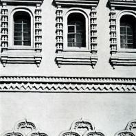 Ярославль. Митрополичьи палаты. Фрагмент фасада