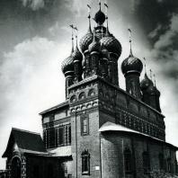 Ярославль. Церковь Иоанна Предтечи в Толчкове. Вид с юго-восточной стороны. 1671-1687