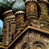 Ярославль. Церковь Иоанна Предтечи в Толчкове. 1671-1687. Купола