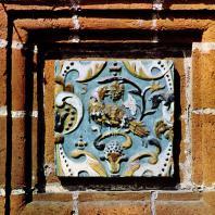 Ярославль. Церковь Иоанна Предтечи в Толчкове. 1671-1687. Изразец