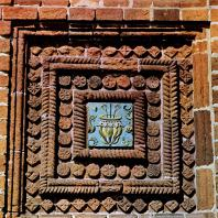 Ярославль. Церковь Иоанна Предтечи в Толчкове. 1671-1687. Декоративная деталь