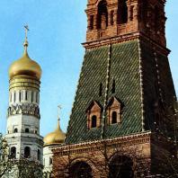 Москва. Кремль. 2-я Безымянная башня. Фрагмент. XV-ХVIII вв.